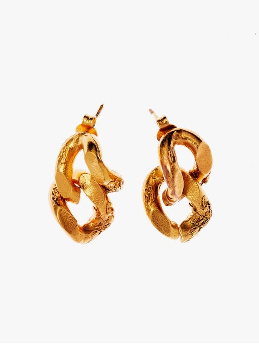 The fractured link earrings photo