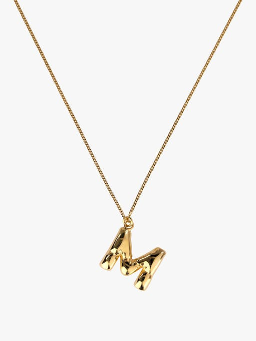 Classicworks™ A-Z letter necklace photo