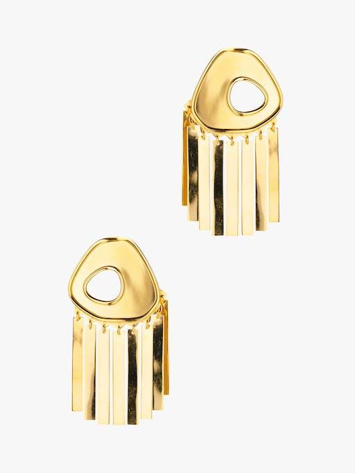 Medium fringe earring photo