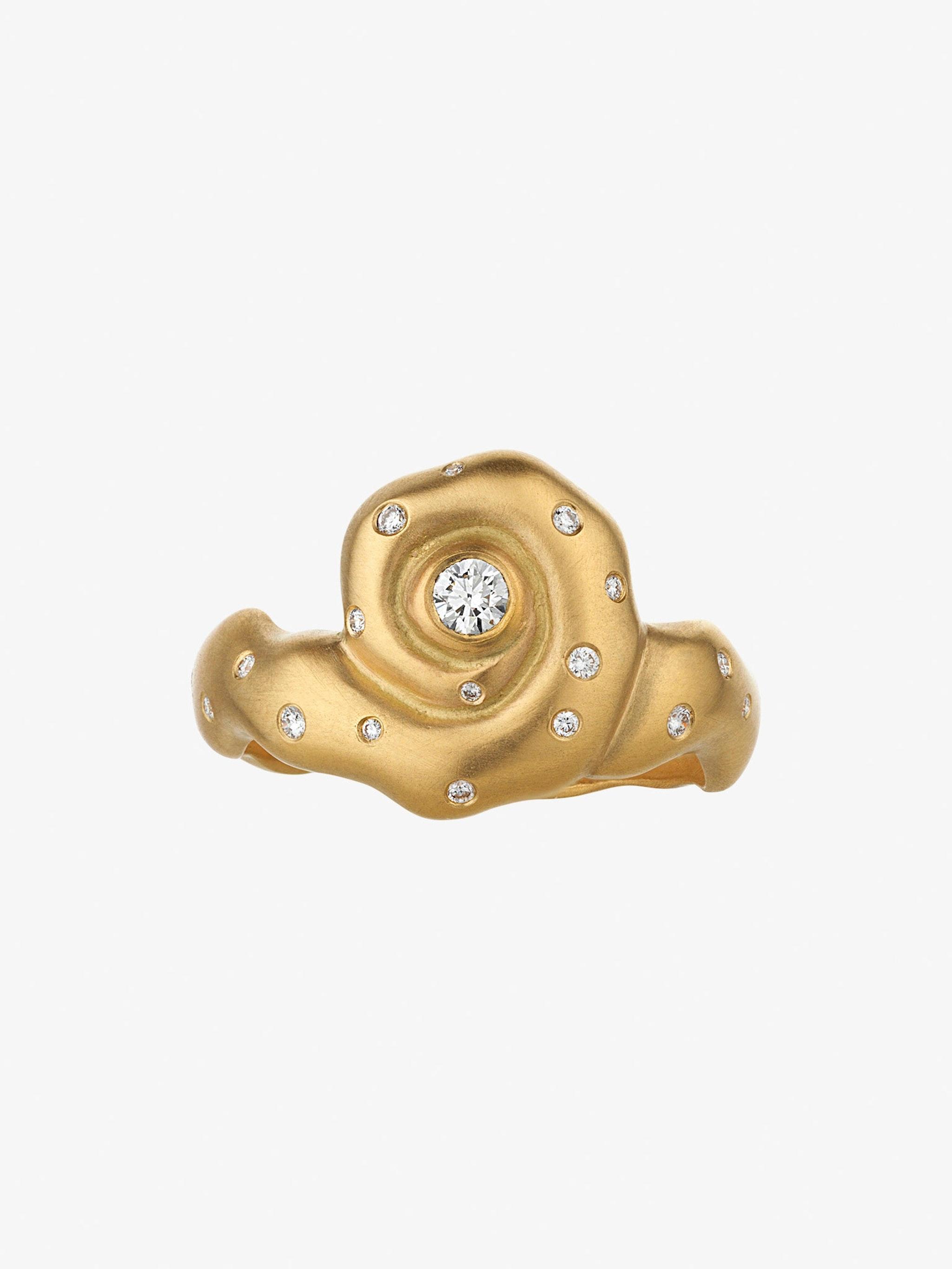 Helix diamond ring photo 1