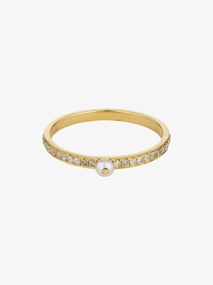 Perle rare pavé ring photo 3