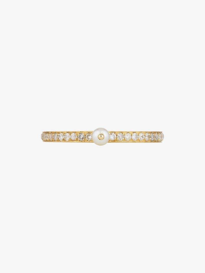 Perle rare pavé ring photo 1