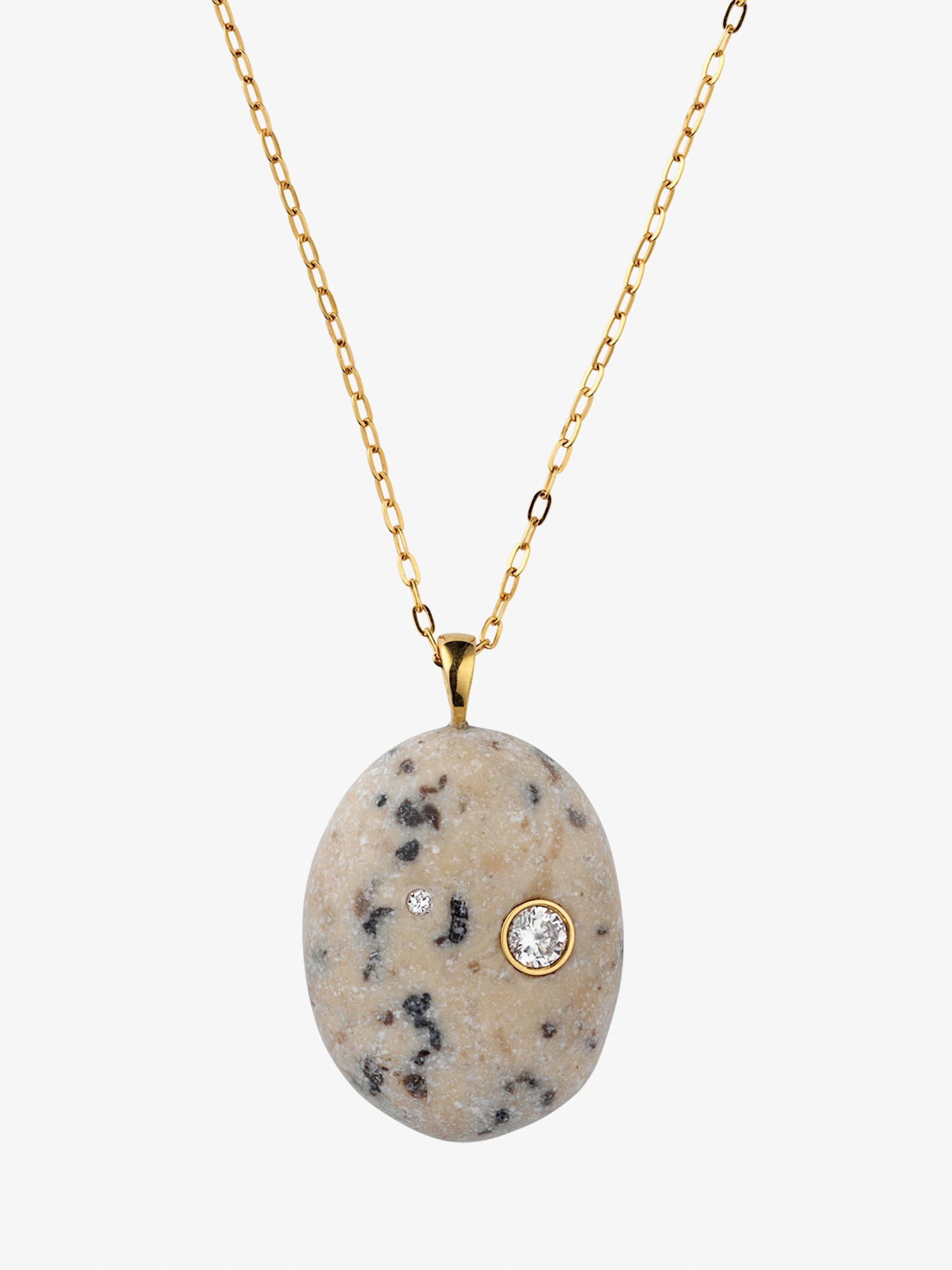 Sale e pepe gold, stone and diamond necklace photo 3