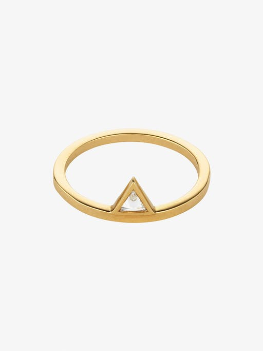 Triangle stacked ring photo