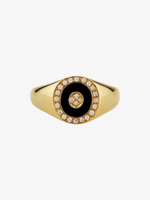 Douce cavalcade noir ring photo