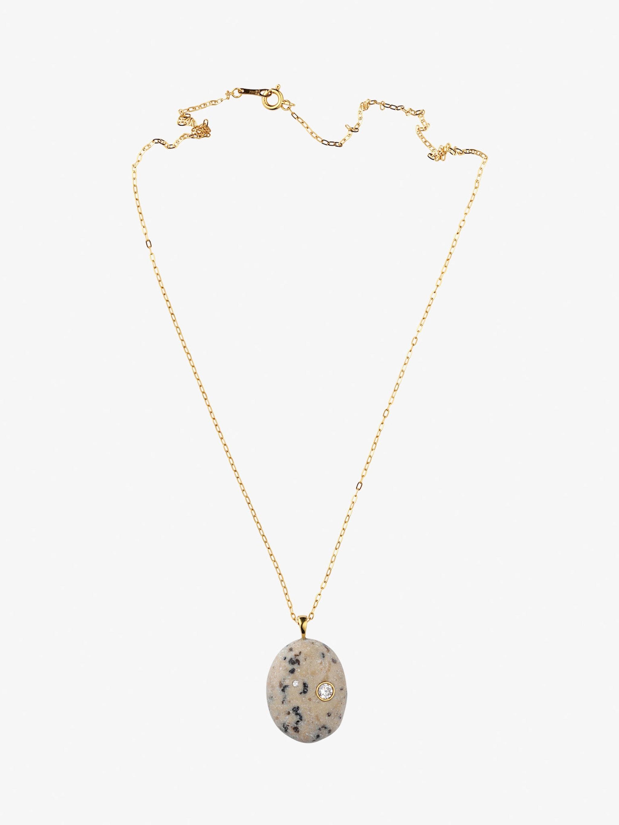 Sale e pepe gold, stone and diamond necklace photo 1