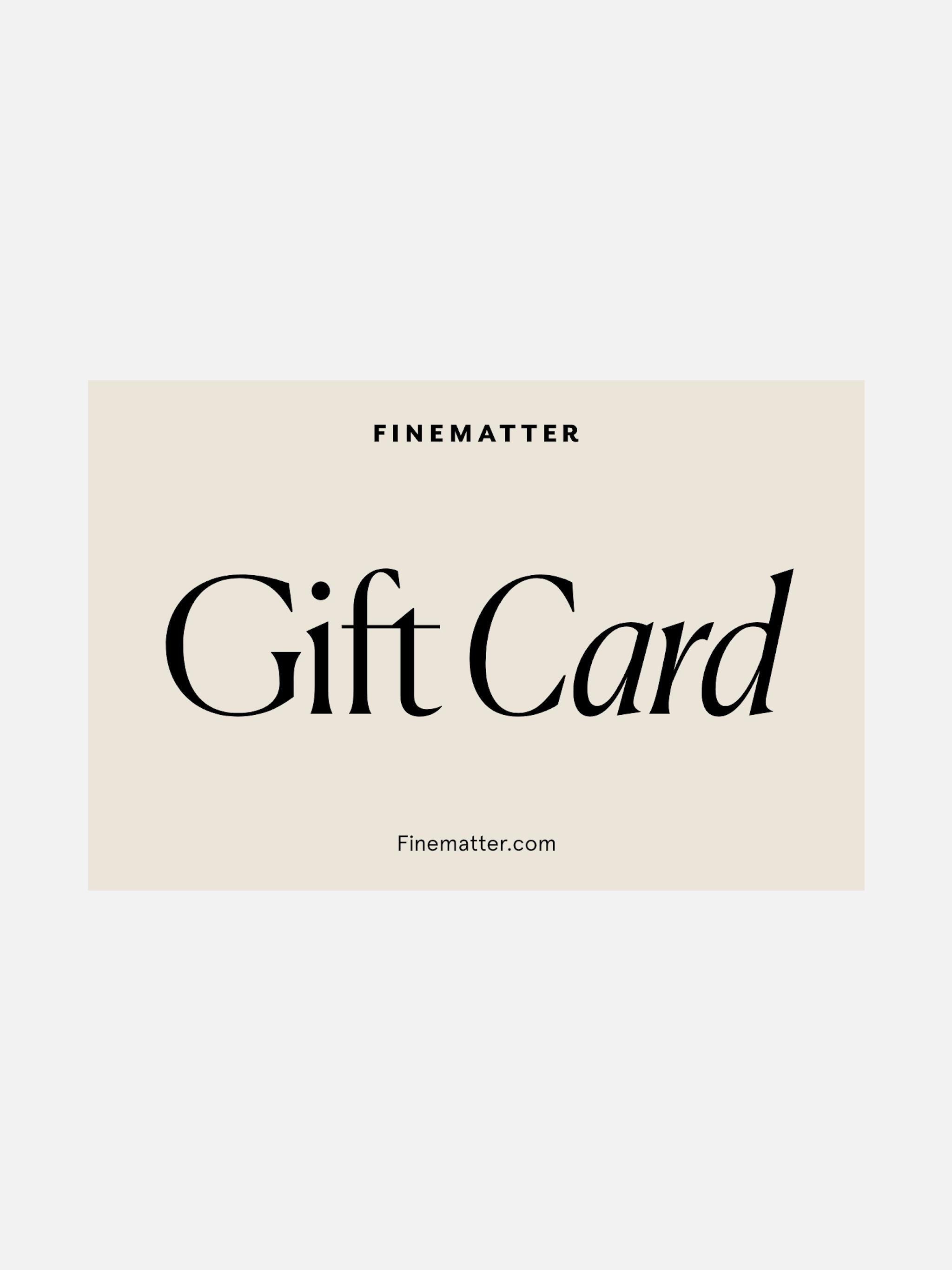 Gift card photo 1
