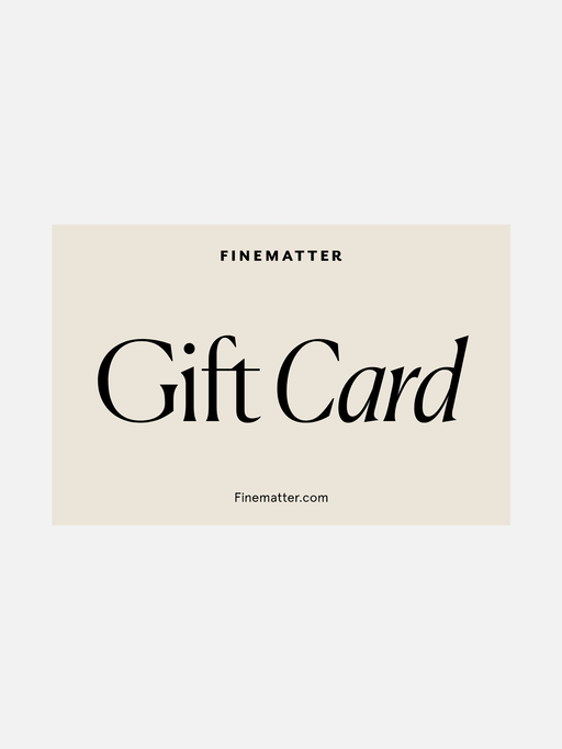 Gift card packshot